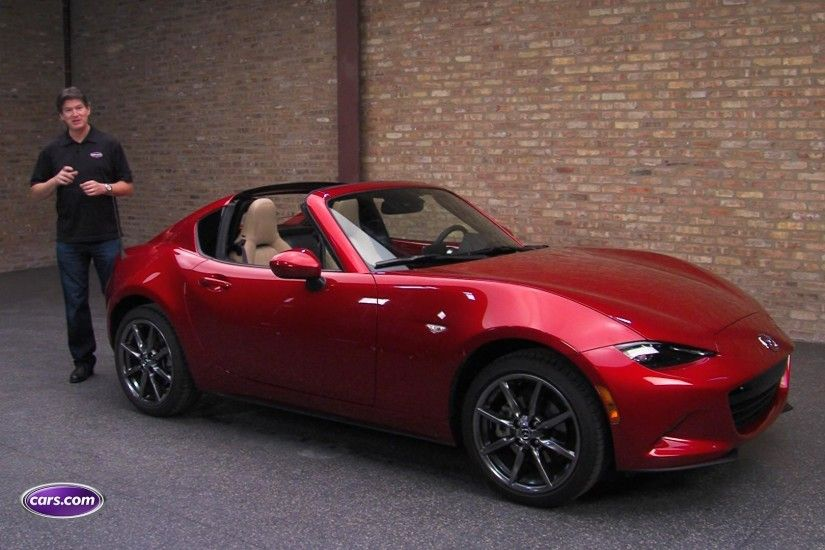 2017 Mazda MX 5 Miata RF Video Review