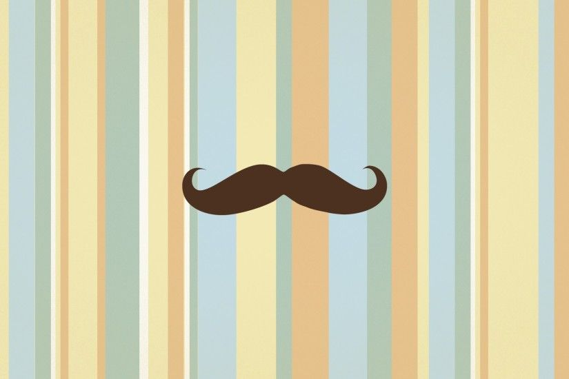 Mustache-Retro-Wallpaper