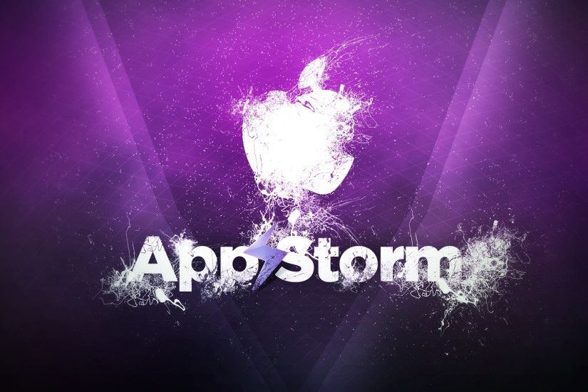 3840x2160 Wallpaper app store, apple, mac, purple, smoke
