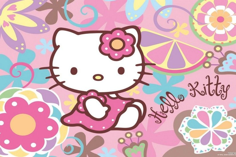 1920x1080 Hello Kitty I Love Punk Wallpaper HD For Windows | Cartoons Images