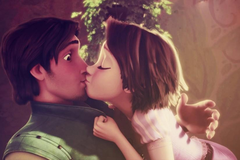 Tangled Rapunzel And Flynn Wallpaper