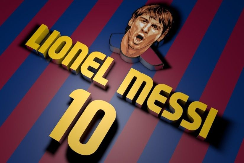 Lionel Messi FC Barcelona HD Wallpaper.