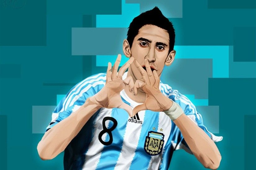 Wide Angel Di Maria Wallpapers HD