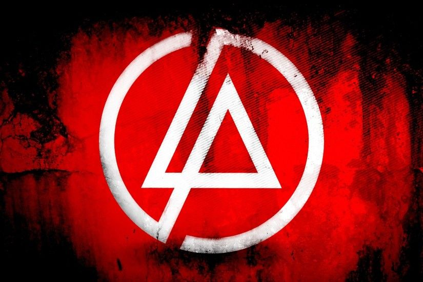 Wallpaper Linkin park, Symbol, Background, Triangle, Circle HD, Picture,  Image