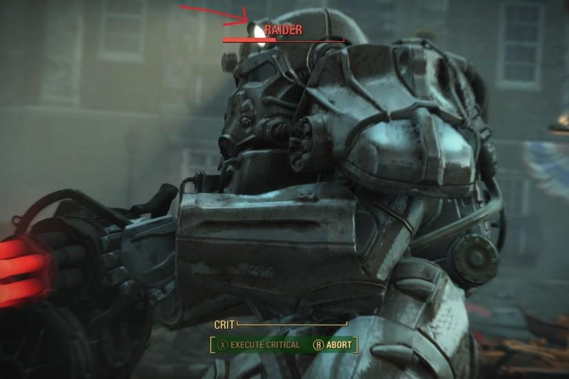 Anyone notice this on the Fallout 4 power armor? Finally a working  directional light!