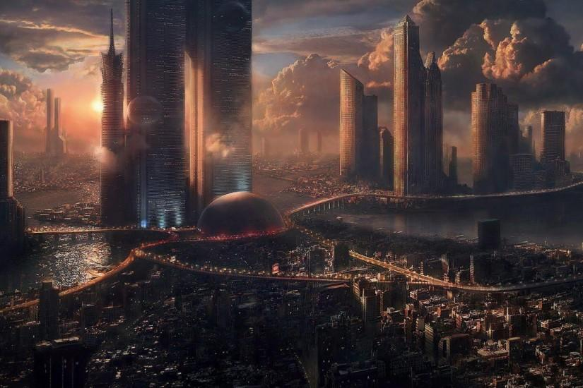 Fantasy City Art Hd Wallpapers Download #9039 Wallpaper | Wallpaper hd
