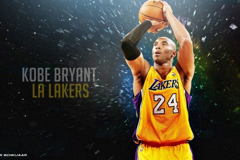 Kobe Bryant Los Angeles Lakers Wallpaper 2014 by