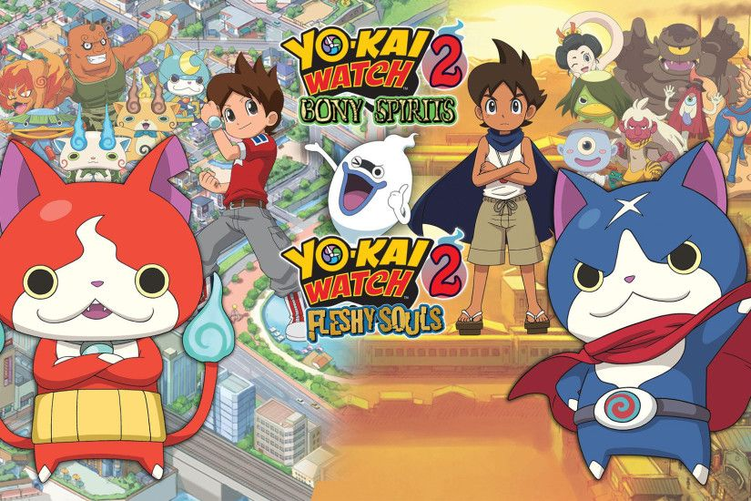 YO-KAI WATCH 2: Fleshy Souls is down to $28.47 today, its lowest ever price  from Jelly Deals