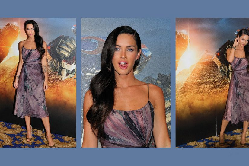 Megan Fox Transformers At Transformer Press Conference Wallpapers