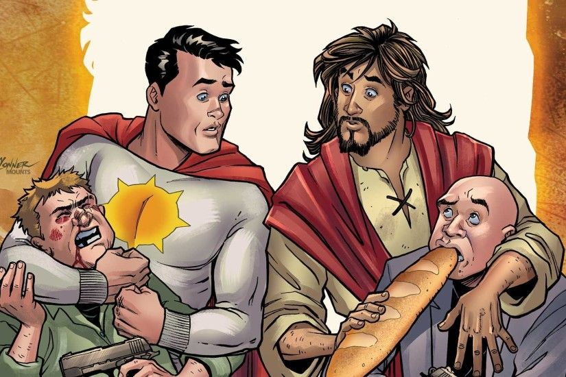 Comics: DC axes Jesus Christ comic book, Conan joins Marvel's Savage  Avengers, more