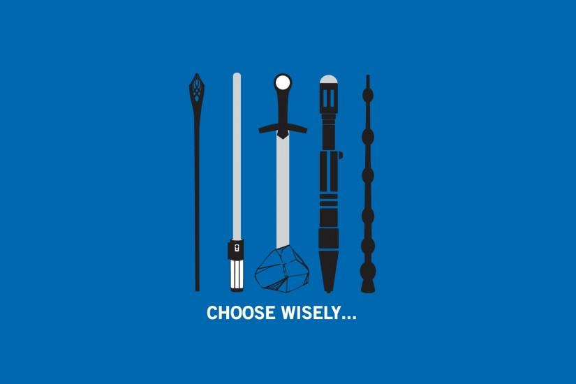 Choose Wisely Wallpaper