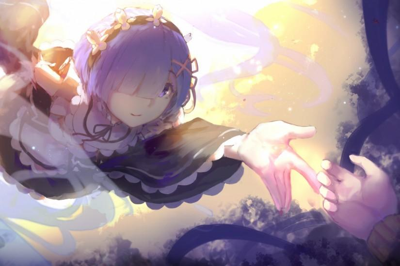 re zero wallpaper 1920x1080 phone