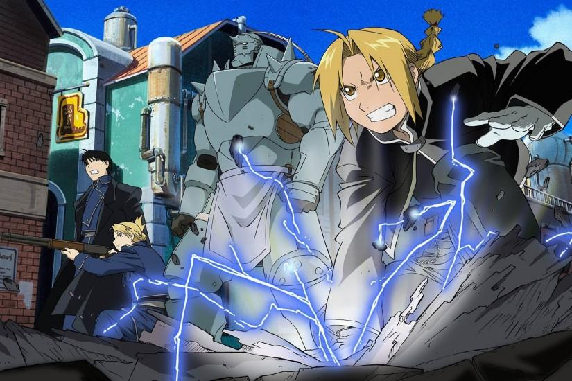 amazing fullmetal alchemist brotherhood wallpaper 1920x1080