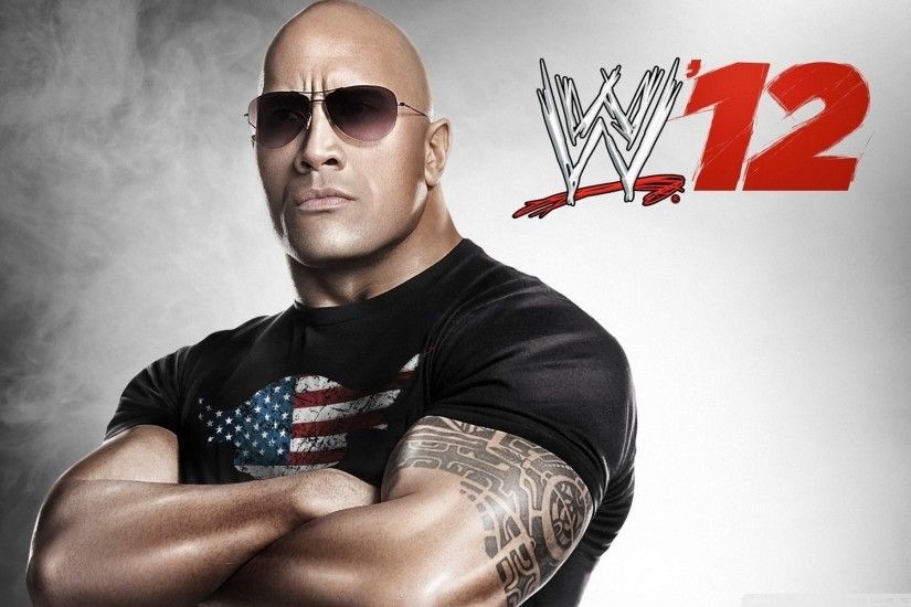 The Rock WWE 12 HD Wide Wallpaper for 4K UHD Widescreen desktop & smartphone