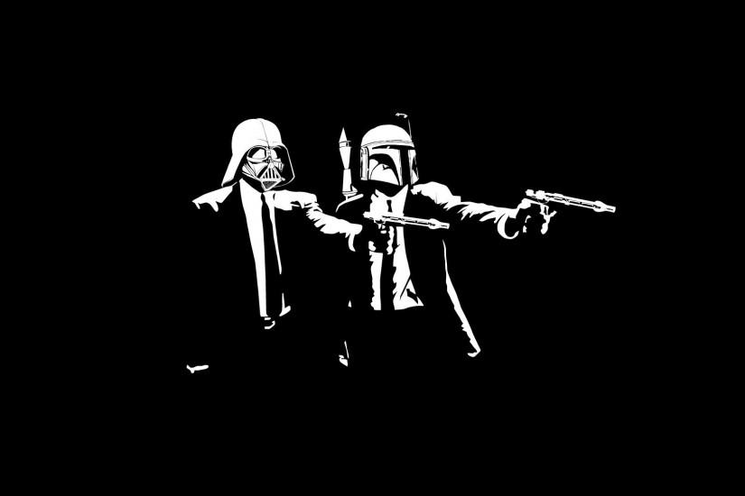 Star Wars, Pulp Fiction, Boba Fett, Darth Vader Wallpaper HD