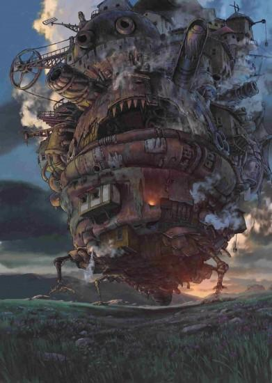 beautiful howls moving castle wallpaper 1400x1971 download