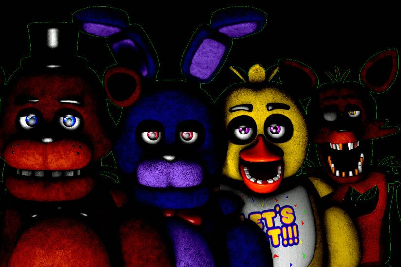 [FNAF GIF] Five Nights at Freddy's saga by AnthonyBlender ...