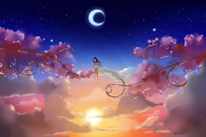 Anime Girl, Dream World, Kunst wallpapers