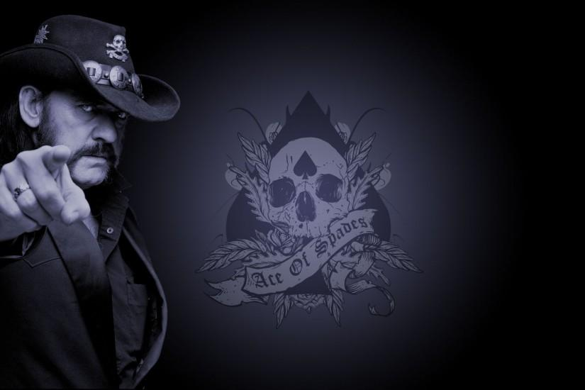 Lemmy Kilmister Motoumlrhead Ace Of Spades Heavy Metal Blues Rock Black  Hair Music Wallpaper