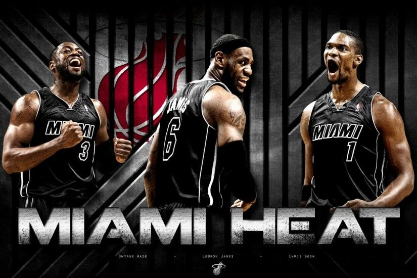 Image detail for -Dwyane Wade with LeBron Miami Heat HD Wallpaper 2012 -  Streetball