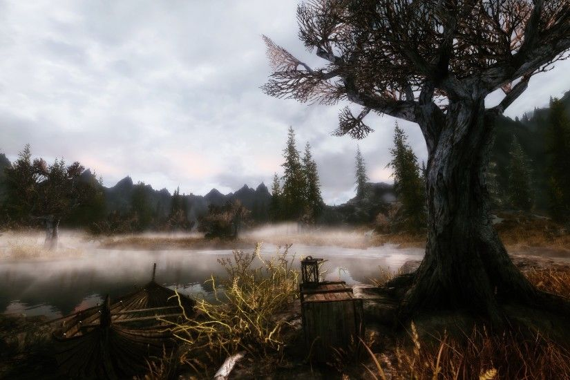 Skyrim Game Scenery