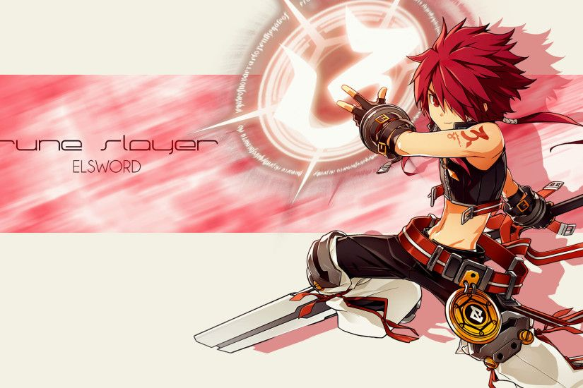 Rune Slayer Elsword Zerochan Anime Image Board
