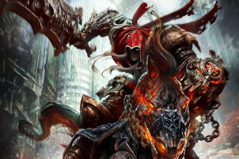 Darksiders Wrath Of War HD desktop wallpaper : High Definition