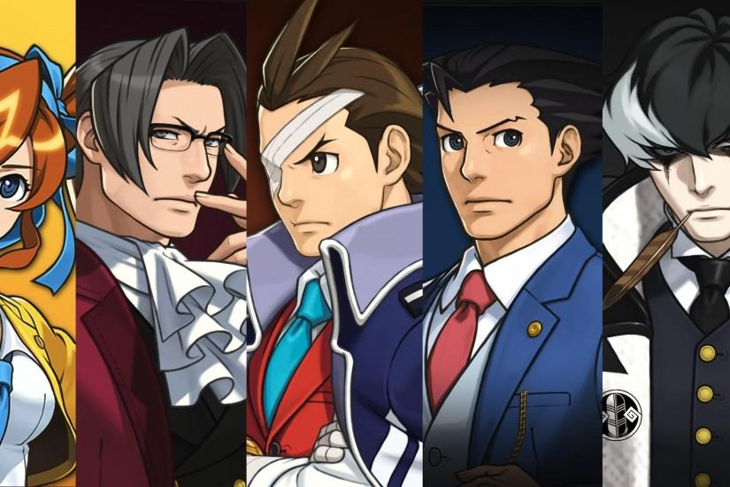 Phoenix Wright Dual Destinies Backgrounds (.zip) by SuperAj3 on .