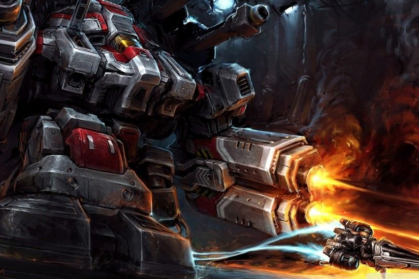 Download Giant Robot Dog Wallpaper 1920x1080 | Wallpoper #447712 · Starcraft  2Pictures ...