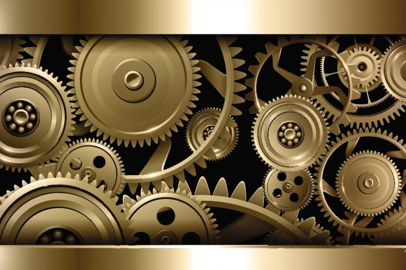 Steampunk gold - (#163625) - High Quality and Resolution Wallpapers on .