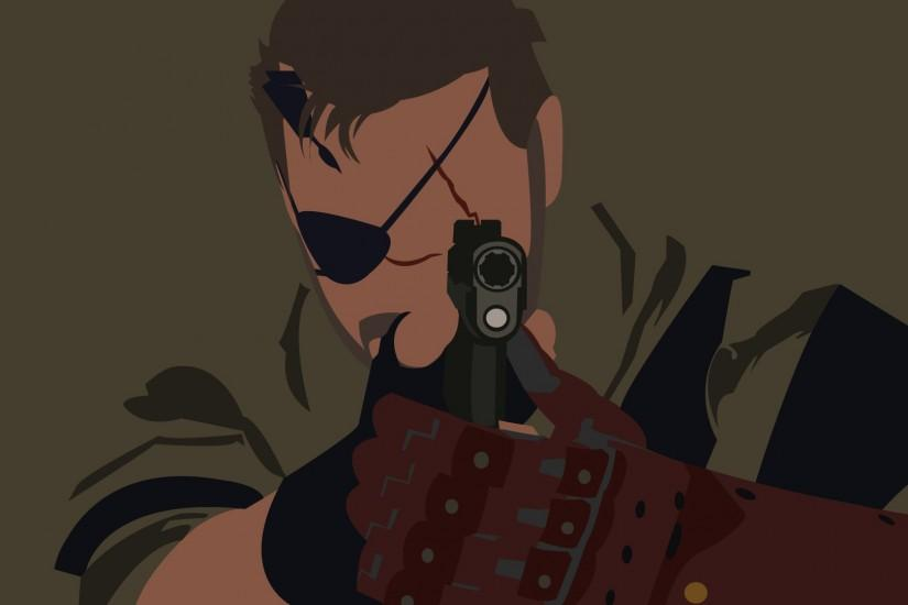 Metal Gear, Metal Gear Solid, Metal Gear Solid V: The Phantom Pain, Gun,  Minimalism, Big Boss, Vectors Wallpaper HD