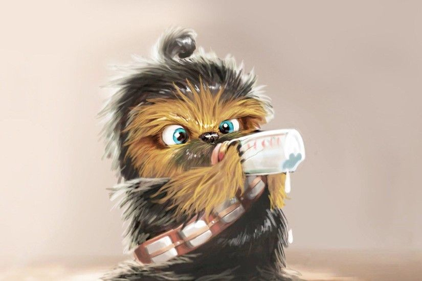 Baby Chewbacca wallpaper - Funny wallpapers - #