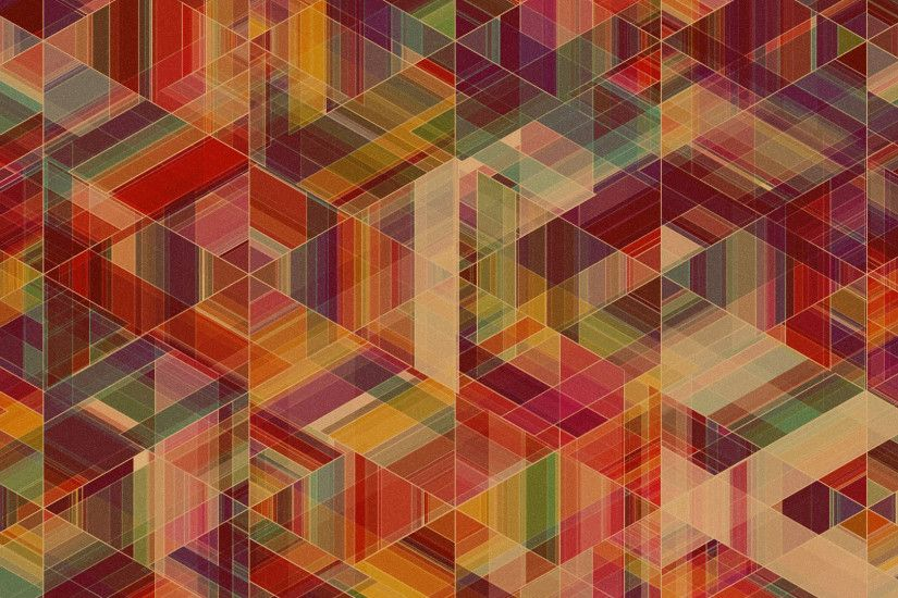 Colorful geometry HD Wallpaper 1920x1080 Colorful ...