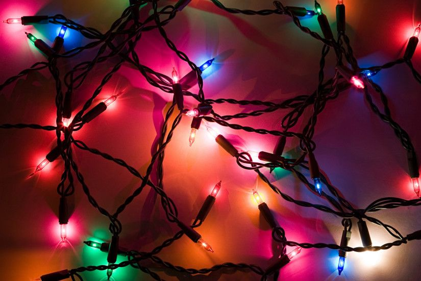 Collection of beautiful Christmas lights wallpapers. Let your favorite  desktop get lighted up with beautiful