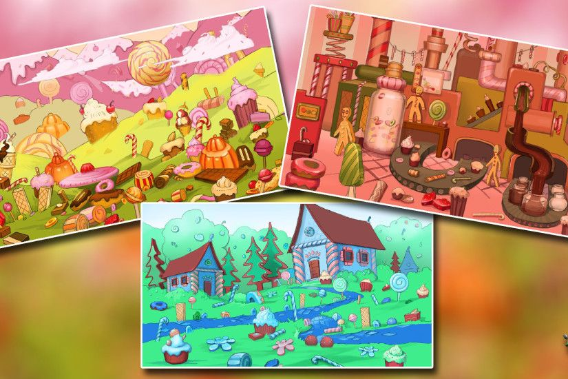 Candy Land Backgrounds