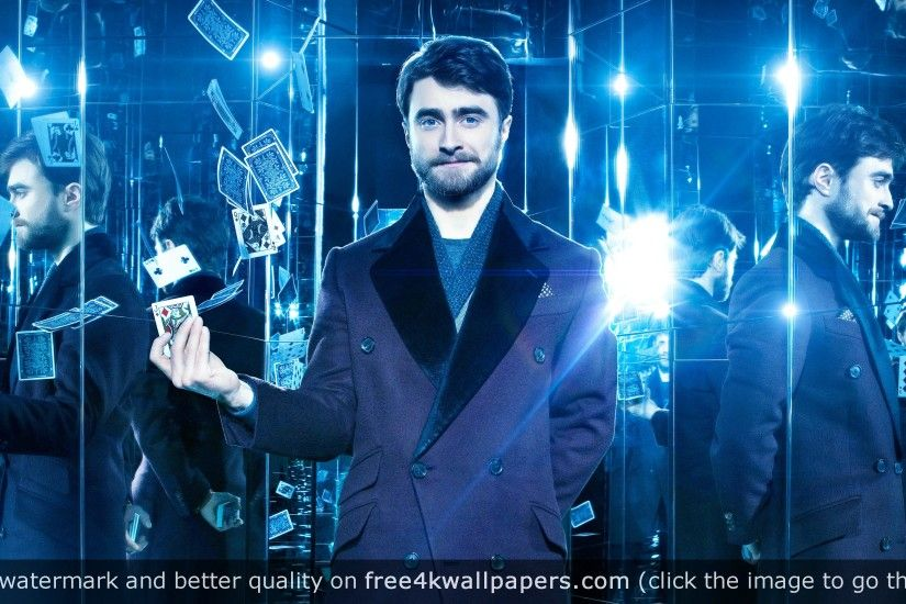 Daniel Radcliffe Now You See Me 2 4K wallpaper