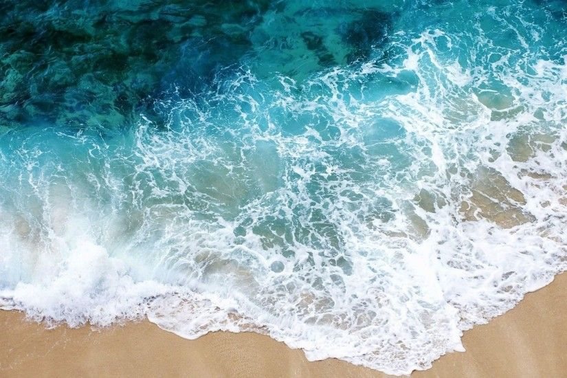 Download 2560x1440 Beach, Sea, Sand, Water, Transparent, Purity, Freshness,  Foam Wallpaper, Background Mac iMac 27
