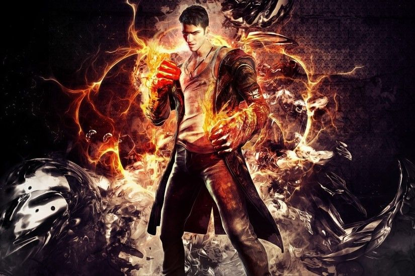 DmC: Devil May Cry Devil May Cry Dante 1080p HD Wallpaper Background