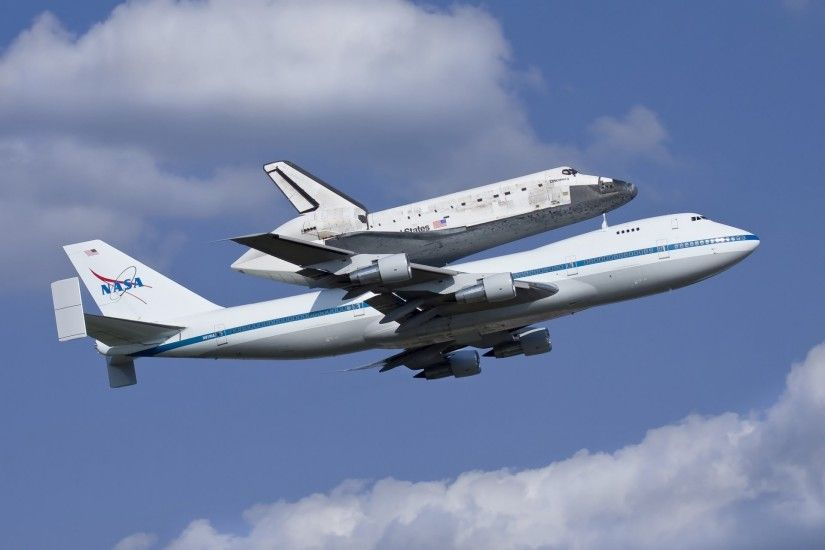 nasa shuttle discovery discovery plane boeing 747