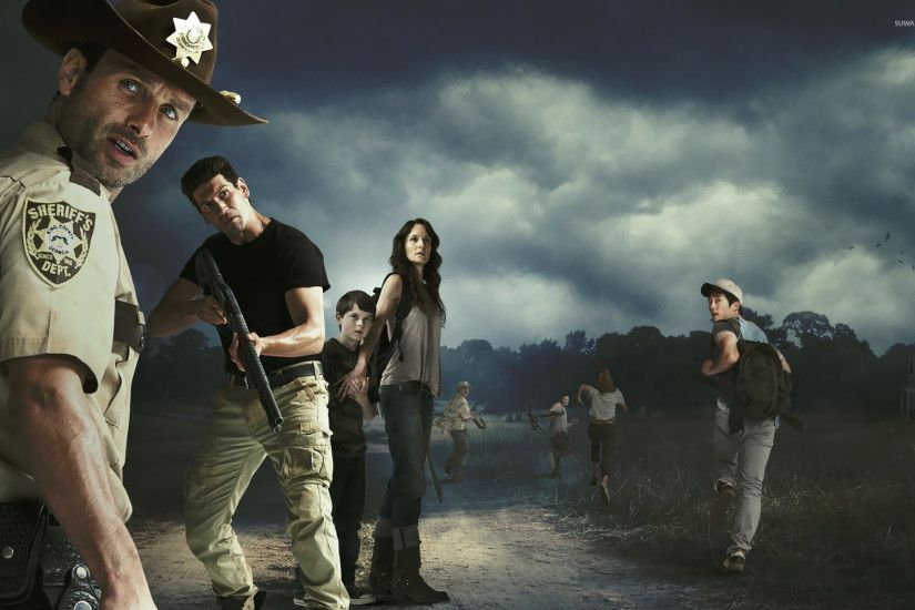 The Walking Dead [7] wallpaper