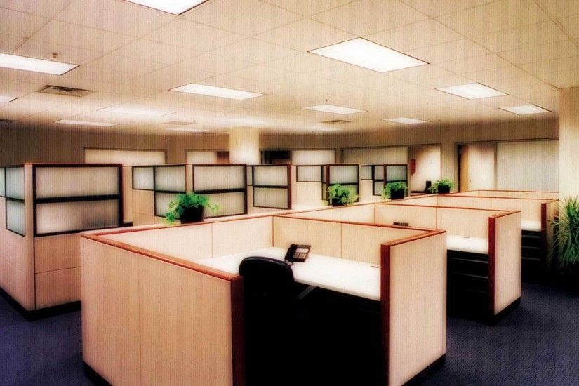 Download Smart and Clean Executive Modern Office Cubicle High .