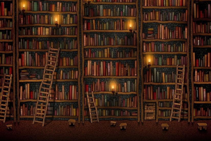 Download Cute Library HD Wallpaper—Free Wallpaper