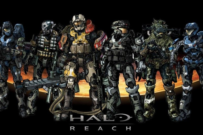 halo backgrounds | Halo Reach 1080p Wallpaper Halo Reach 720p Wallpaper