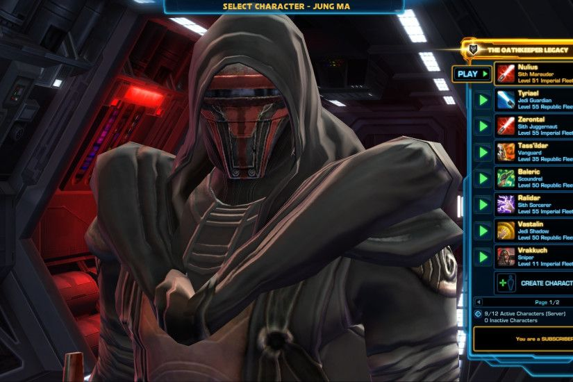 Star Wars Sith Wallpapers Source · STAR WARS The Old Republic BW Pls read  Revan s light grey bug