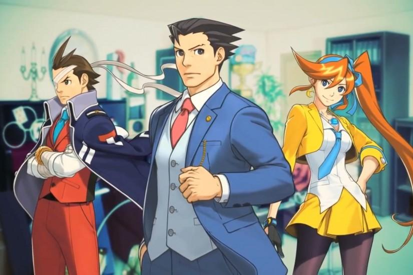 Pix For > Ace Attorney Wallpaper 1920x1080
