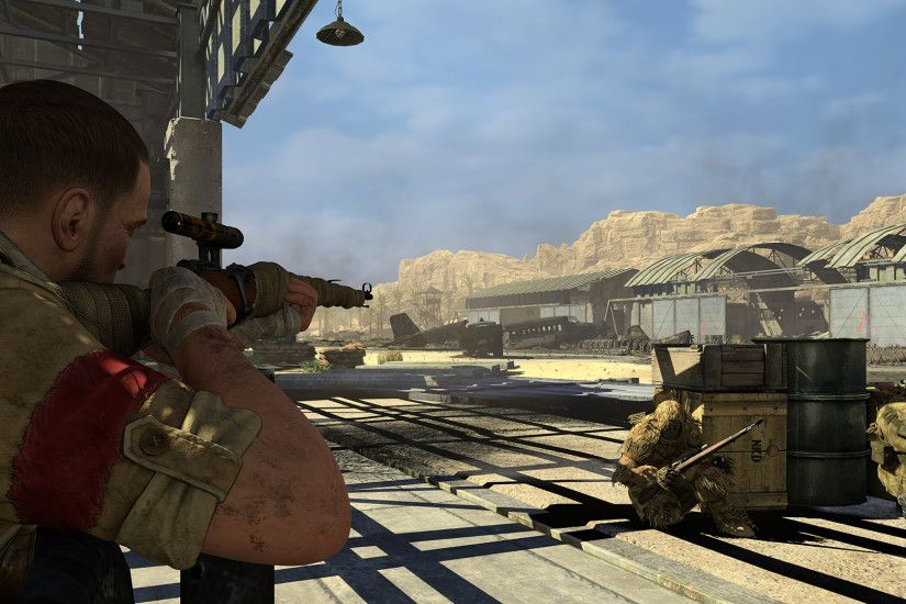 ... Sniper Elite III · screenshot01