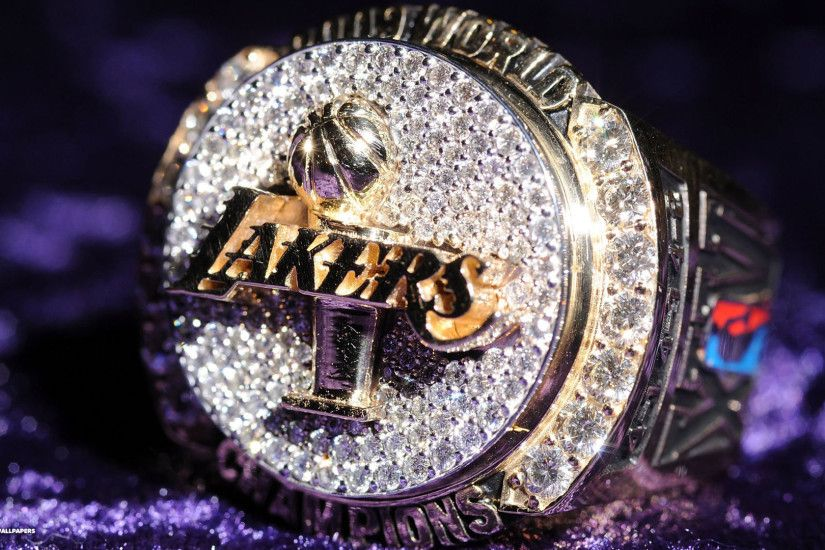 lakers champions ring