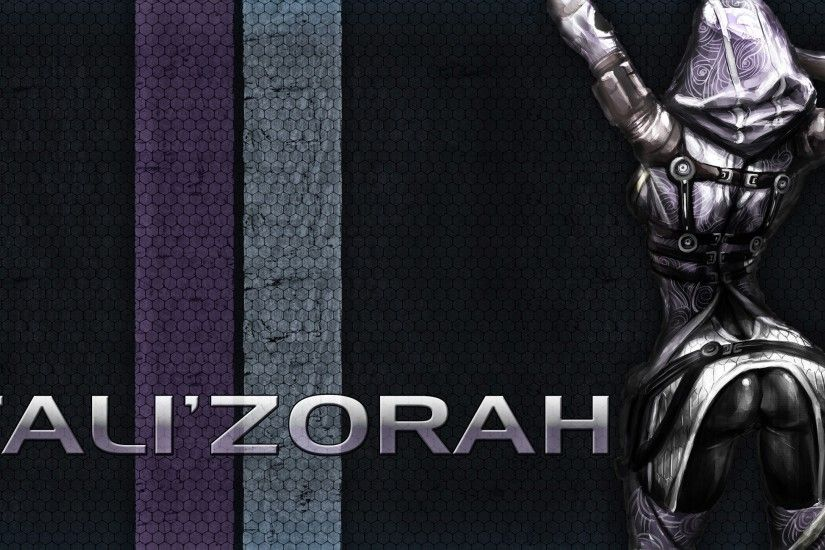 Video Game - Mass Effect 3 Tali'Zorah Wallpaper