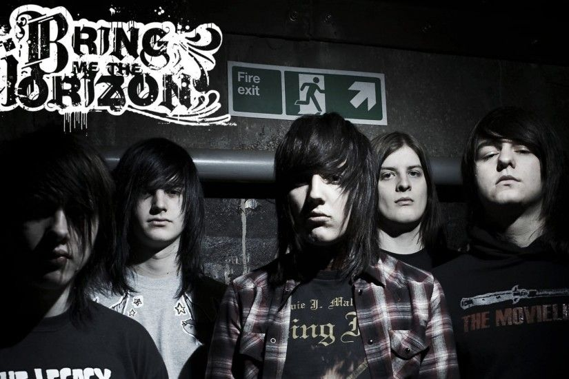 Bring me the horizon hair look exit pipe.