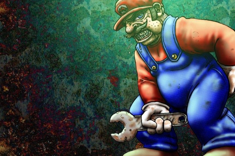 games mario super bros alt art wrench HD Wallpaper wallpaper .